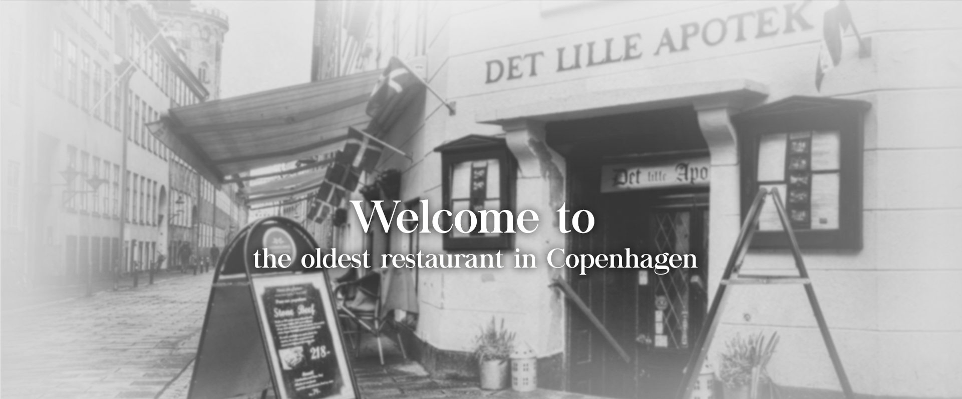 The oldest restaurant in Copenhagen