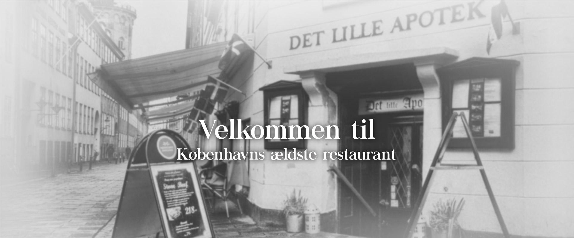 Velkommen til Københavns ældste restaurant